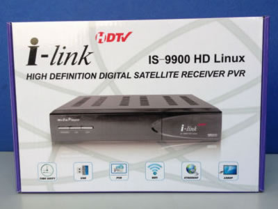 Ilink IS-9900 HD FTA Satellite receiver with Wifi with LS500 module