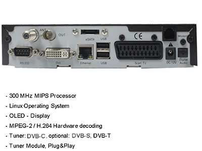 DM800HD Pro DM800 HD DVB-C Cable Receiver DM800C SIM2.01 Bootloader#84 DM800-C HD PVR Media Player