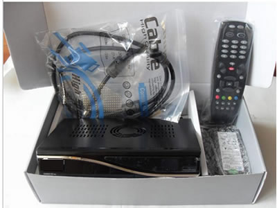 DM800S with SIM 2.10 card DVB-S satellite receiver