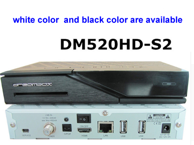 Dreambox DM520hd with DVB-S2 Tuner Linux OS TV Receiver
