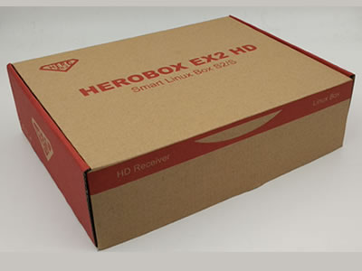 HEROBOX EX2 HD tv box DVB-S2 tuner Linux Satellite Receiver