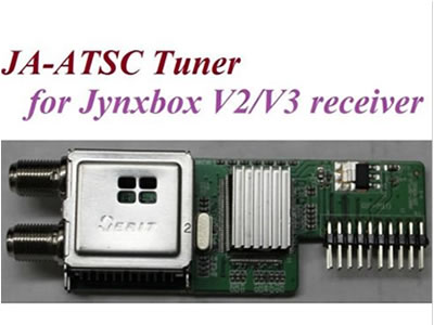 JB-ATSC Tuner module for  Ultra V2 V3 V4+ V5 V7 Receiver-Local ATSC signal
