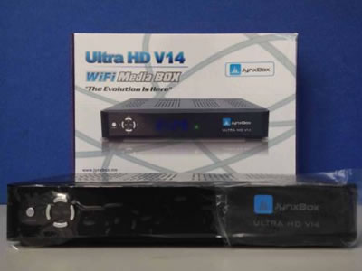 V14 JynxBox Ultra HD V14 Receiver