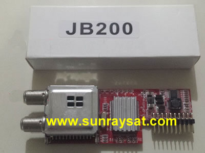 JynxBox JB-200 8PSKHD Jyazbox Tuner Module For The V2 thru V30 hd 300 and all Jynxbox