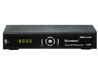 Linkbox 9000i Local HD iPTV Satellite Top Box Receiver
