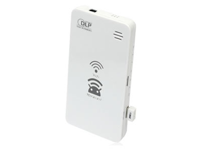 Mini WiFi Pocket HD Wireless DLP Projector for iPhone Android Phone Laptop PC