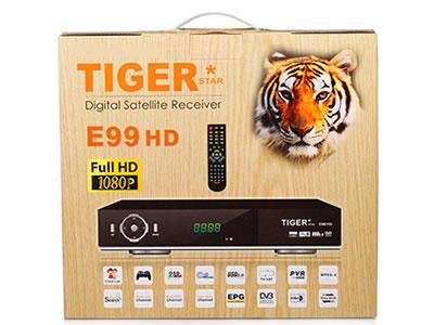 Tiger Star E99 HD Digital Satellite Receiver IPTV free Arabic
