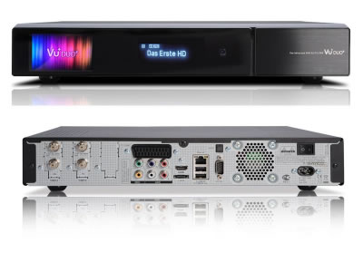 Vu+ Duo2 Twin Tuners Linux Enigma 2 HDTV HbbTV mit 2x DVB-S2  Receiver