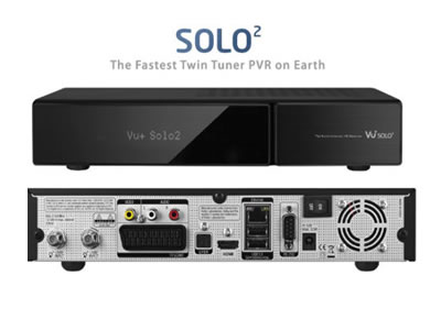 VU+ Solo2 Full HD Twin DVB-S2 Linux Receiver