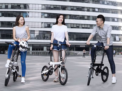Xiaomi Mi QiCycle Smart Folding Electric Bike Bicycle