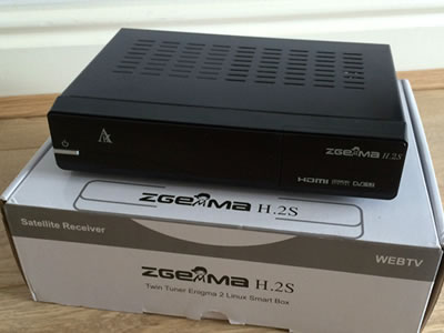 Zgemma star H 2S Satellite Receiver TWIN DVB-S2 TUNER ENIGMA